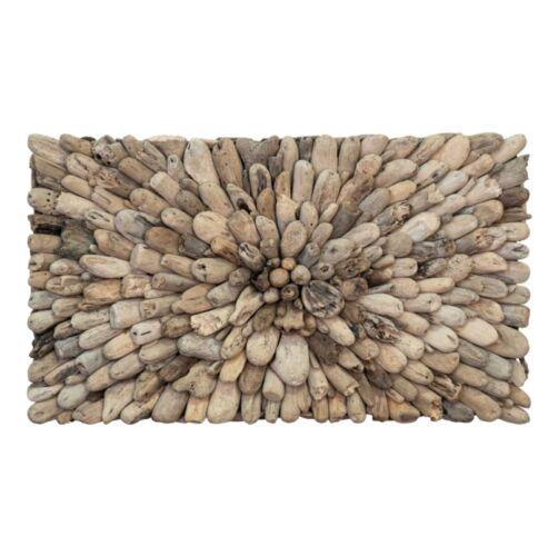 House Nordic - Geometrikus fali dísz újrahasznosított fából